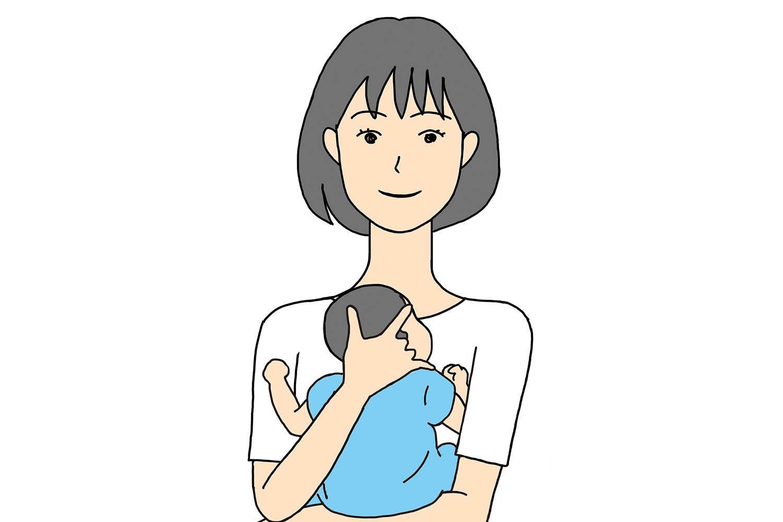 新生児の抱き方と素手のだっこ